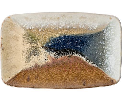 Ręcznie wykonany półmisek Willow, Kamionka, Wielobarwny, S 34 x G 21 cm