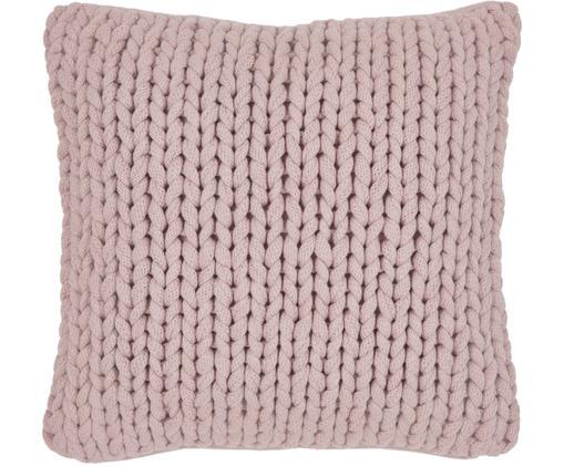 Poszewka na poduszkę Josie, 100% bawełna, Blady różowy, S 50 x D 50 cm