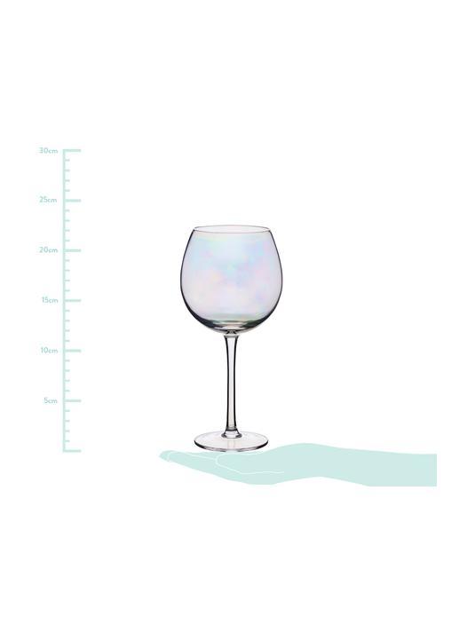 Besonderer Rabatt Weingläser Iridescent mit Perlmuttglanz, 2er-Set