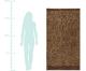 Ręcznik plażowy Jaguar, Beżowy, brązowy