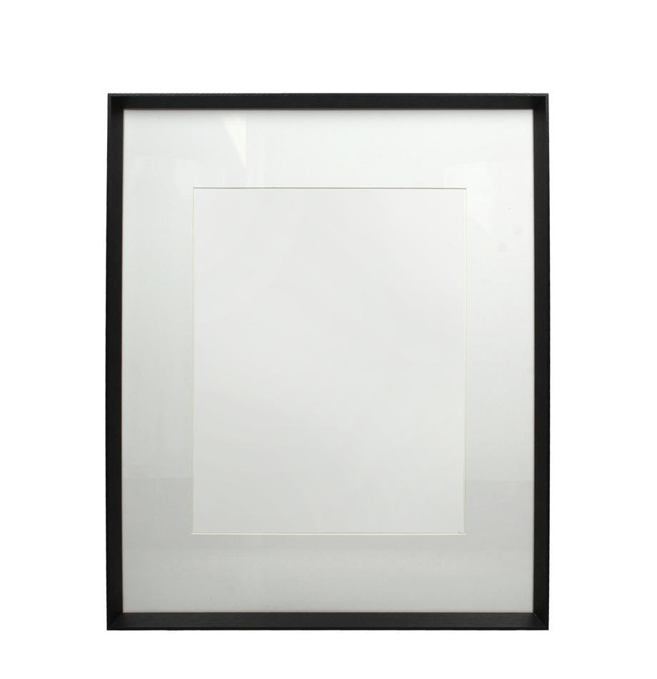 Bildrahmen Apatite, Holz, beschichtet, Schwarz, 40 x 50 cm