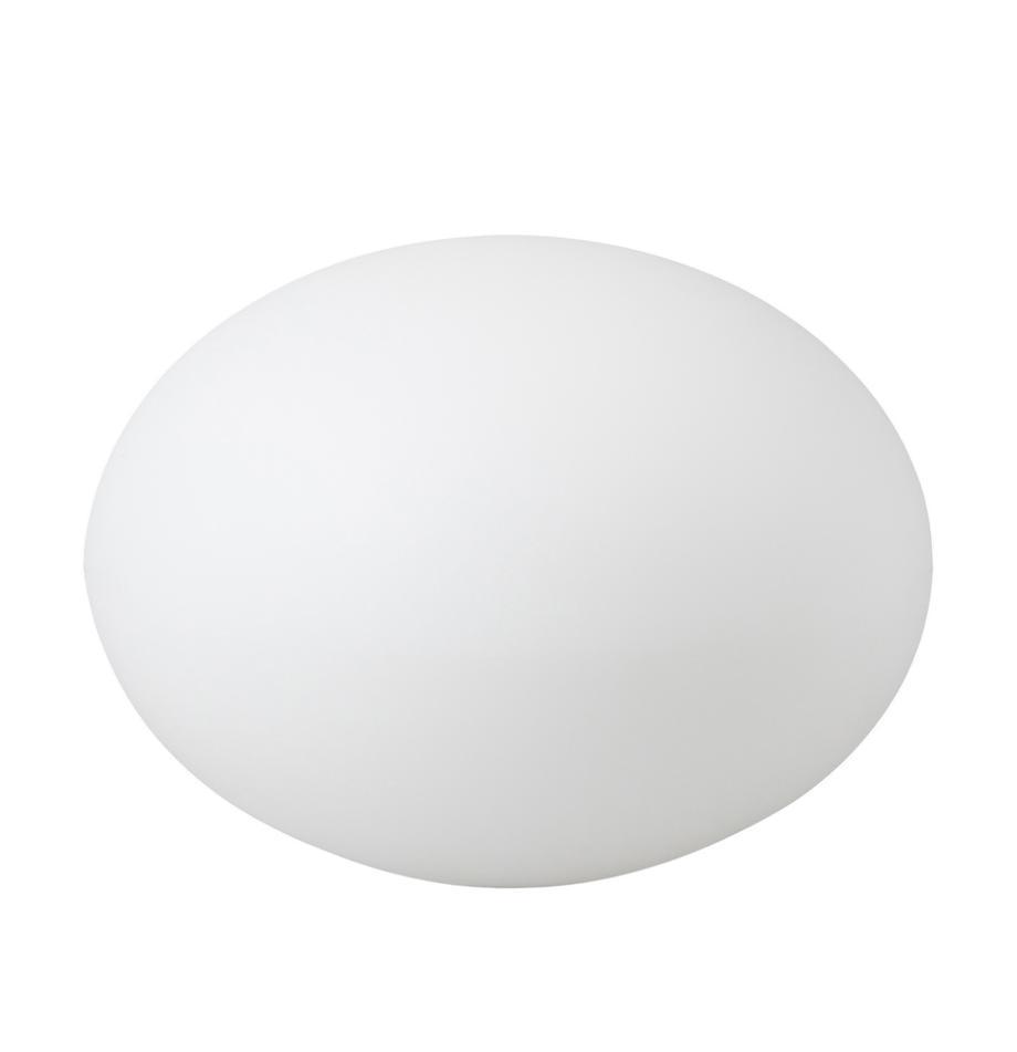 Bodenleuchte Apollo mit Stecker, Kunststoff, Weiss, Ø 40 x H 30 cm