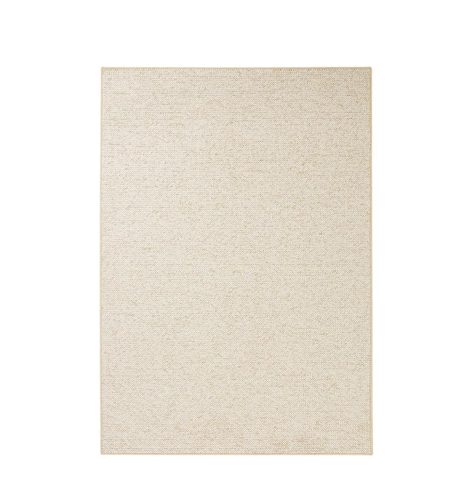 Tappeto Lyon, Retro: pelo, Crema, mescolato, Larg. 100 x Lung. 140 cm (taglia xs)