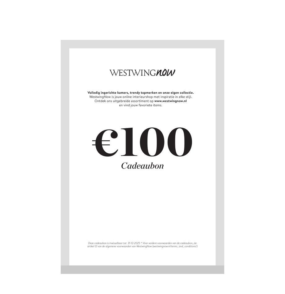Cadeaubon om zelf te printen, Digitale cadeaubon Na ontvangst van de betaling ontvang je een e-mail met de downloadlink naar je cadeaubon. Je kunt het PDF-bestand gemakkelijk opslaan en afdrukken., Multicolour, 100