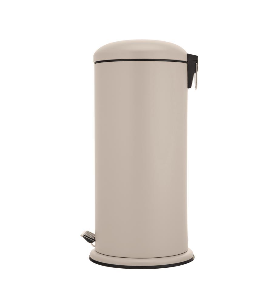 Papelera Dustbin, Interior: polipropileno, Beige, Ø 30 x Al 68 cm