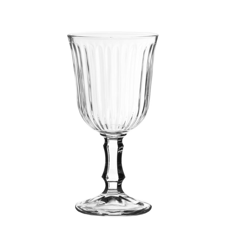 Weingläser Belem, 12 Stück, Glas, Transparent, 180 ml