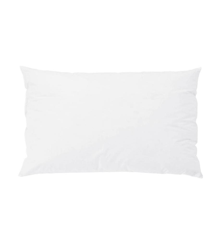 Relleno de cojín Komfort, 30x50, Funda: percal Mako, 100%algodón, Blanco, An 30 x L 50 cm