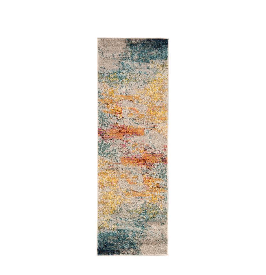 Passatoia a fantasia in polipropilene Celestial, Retro: juta, Multicolore, Larg. 60 x Lung. 183 cm