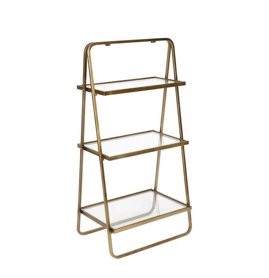 Ladder-wandrek Goddess in antieke afwerking, Frame: vermessingd metaal, Messingkleurig met antieke afwerking, 50 x 106 cm