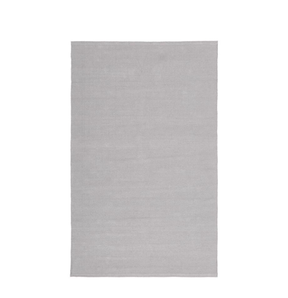 Ręcznie tkany dywan z bawełny Agneta, Bawełna, Szary, S 50 x D 80 cm (Rozmiar XXS)