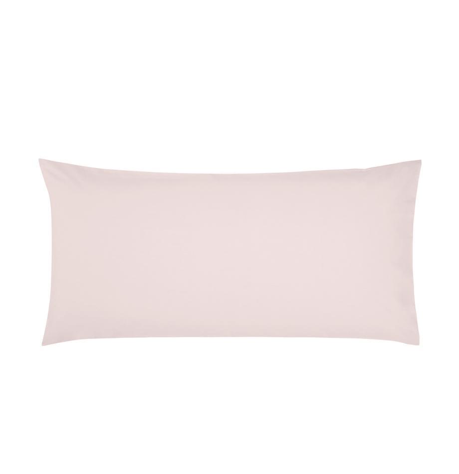 Baumwollperkal-Kissenbezüge Elsie in Rosa, 2 Stück, Webart: Perkal Fadendichte 200 TC, Rosa, 40 x 80 cm
