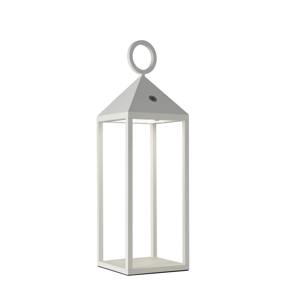 Lampada a LED da esterno portatile Cargo, Alluminio verniciato, Bianco, Larg. 14 x Alt. 47 cm