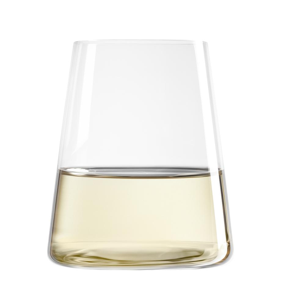Kristallgläser Power in Kegelform, 6er-Set, Kristallglas, Transparent, Ø 9 x H 10 cm