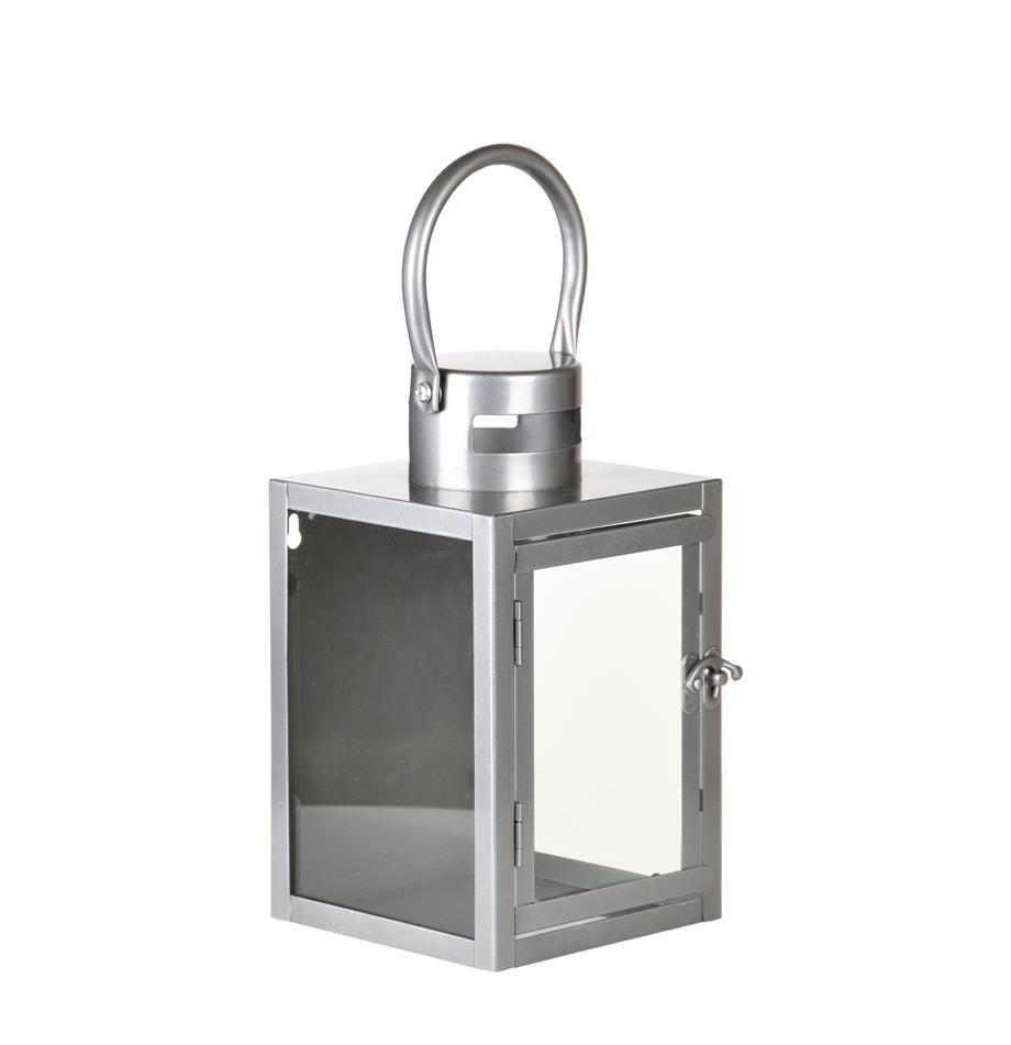 Wand-Laterne Shine, Gehäuse: Metall, beschichtet, Silberfarben, 14 x 23 cm