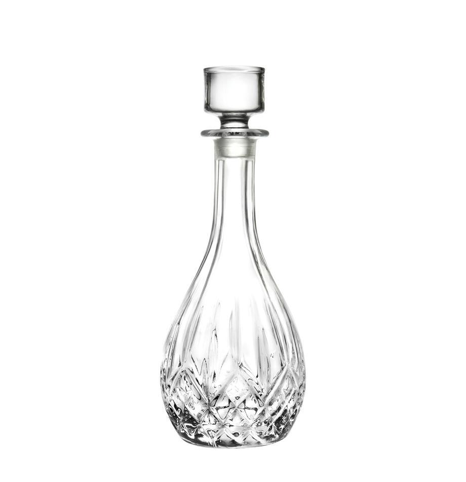 Decantador de cristal Rotonda, 900ml, Cristal, Transparente, Al 26 cm