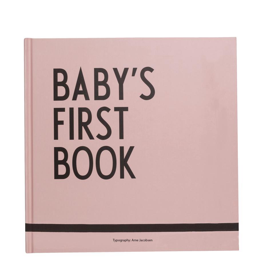Księga pamiątkowa Baby´s First Book, Papier, Blady różowy, S 25 x W 25 cm