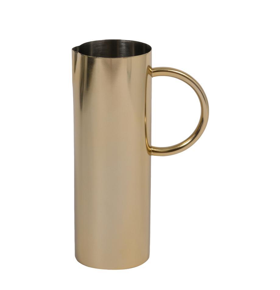 Krug Mangal aus Edelstahl in Gold, 1 L, Edelstahl, beschichtet, Messingfarben, 1 L