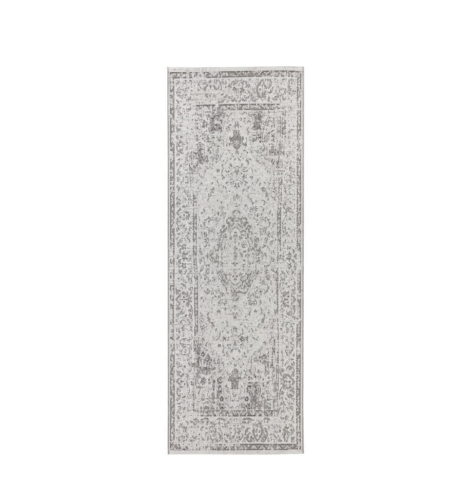 Chodnik wewnętrzny/zewnętrzny Cenon, Polipropylen, Kremowy, szary, S 77 x D 200 cm