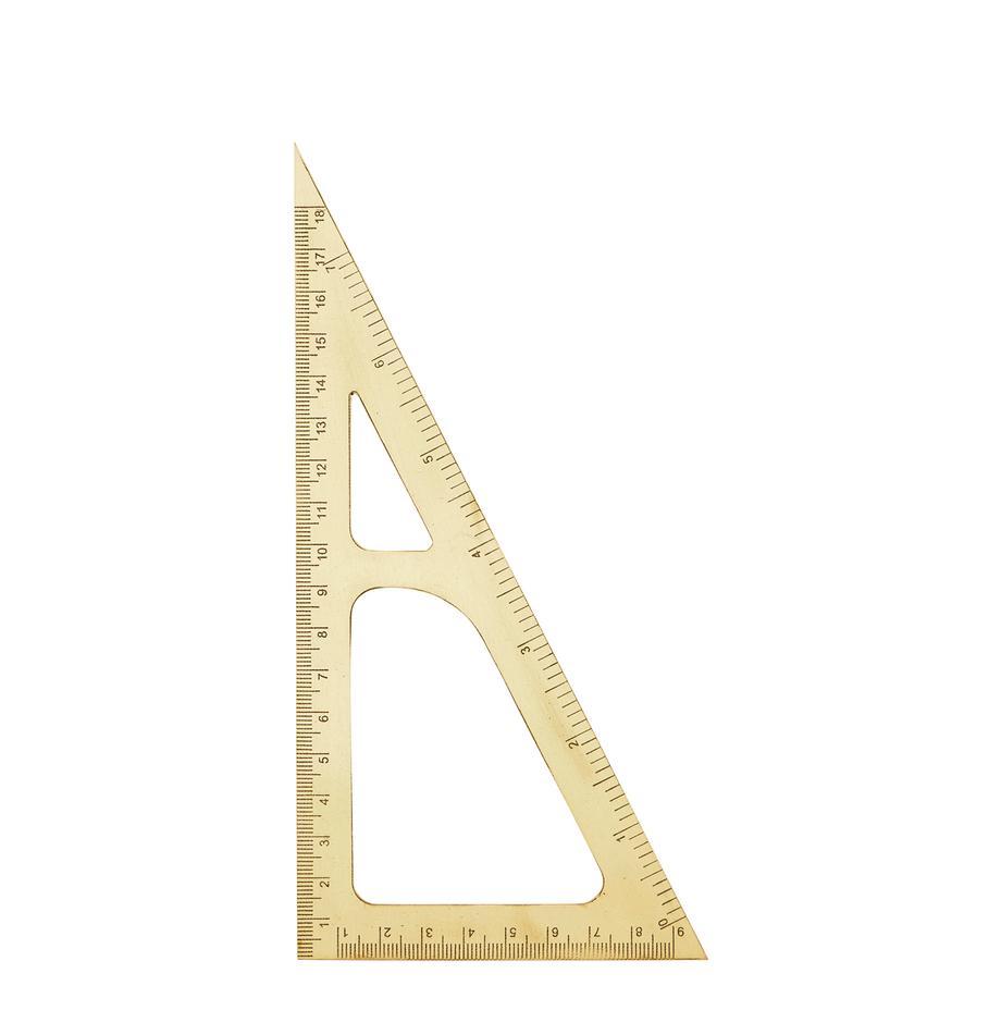 Lineal Ruler, Messing, Messing, L 19 cm