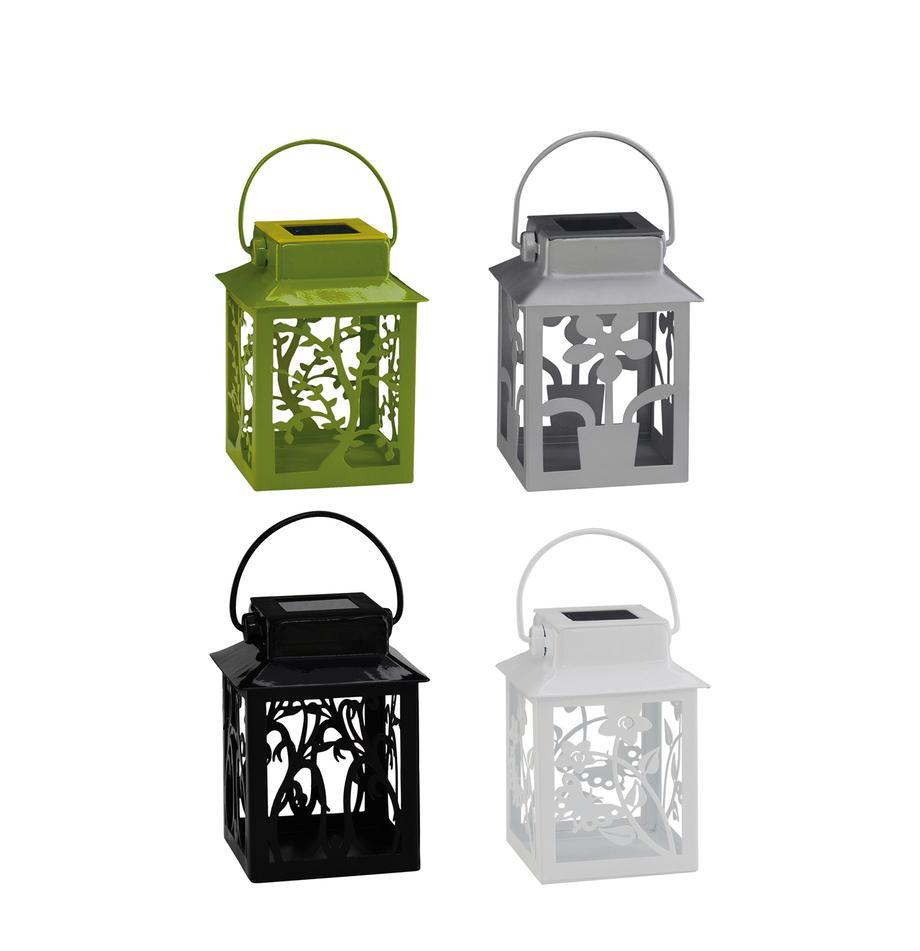 Komplet latarenek solarnych Garden-Lantern, 4 elem., Wielobarwny, D 8 x W 13 cm