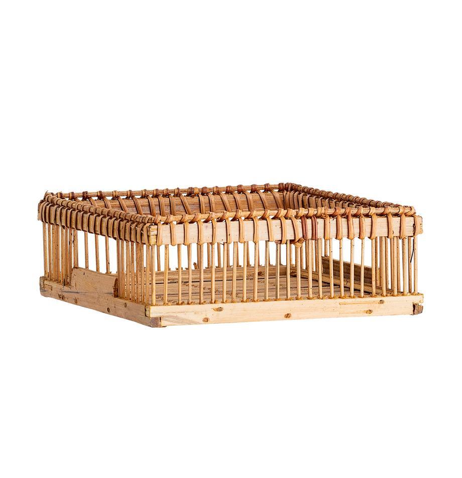 Servilletero de bambúLamgo, Bambú, Bambú, An 18 x L 18 cm