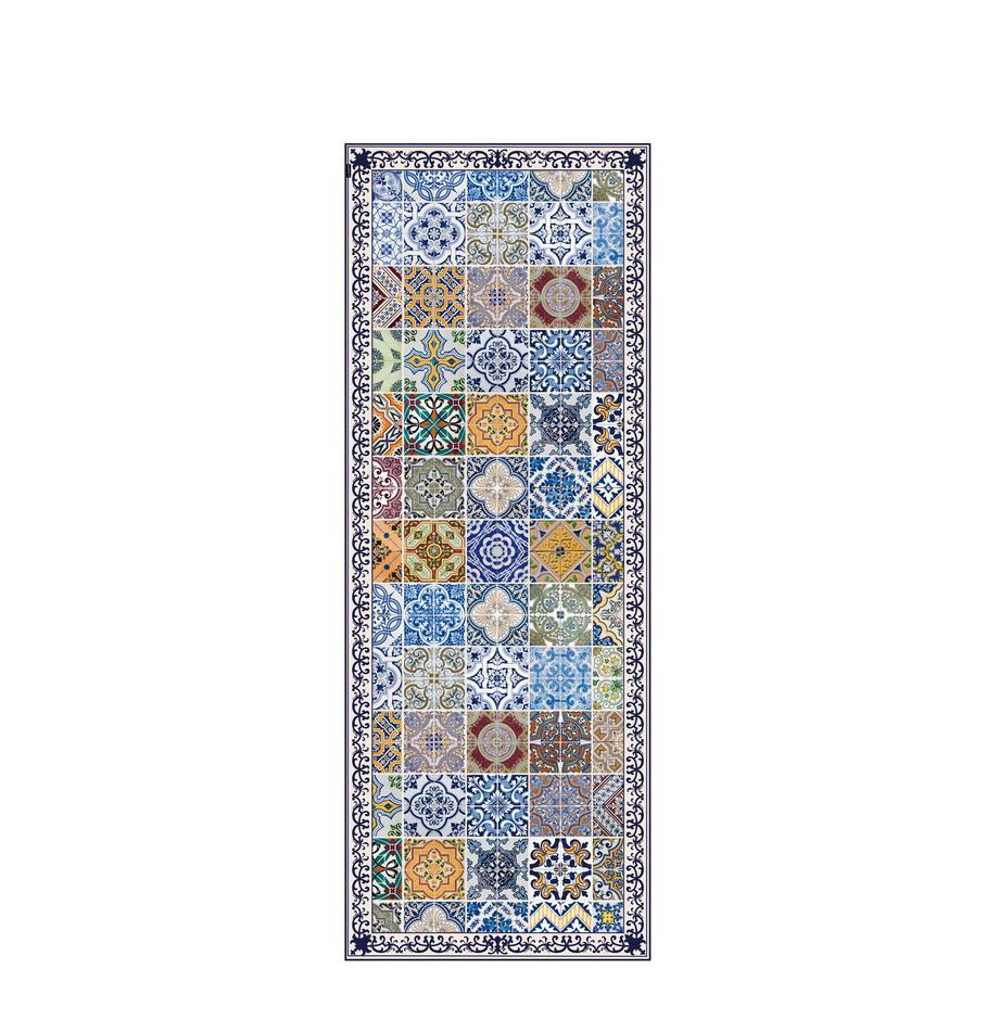 Alfombra vinílica Pablo, antideslizante, Vinilo reciclable, Multicolor, An 68 x L 180 cm