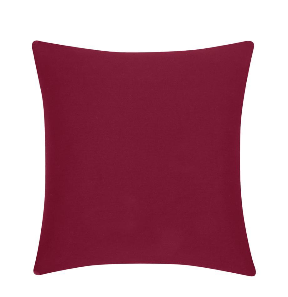 Federa arredo in cotone rosso Mads, 100% cotone, Rosso, Larg. 40 x Lung. 40 cm
