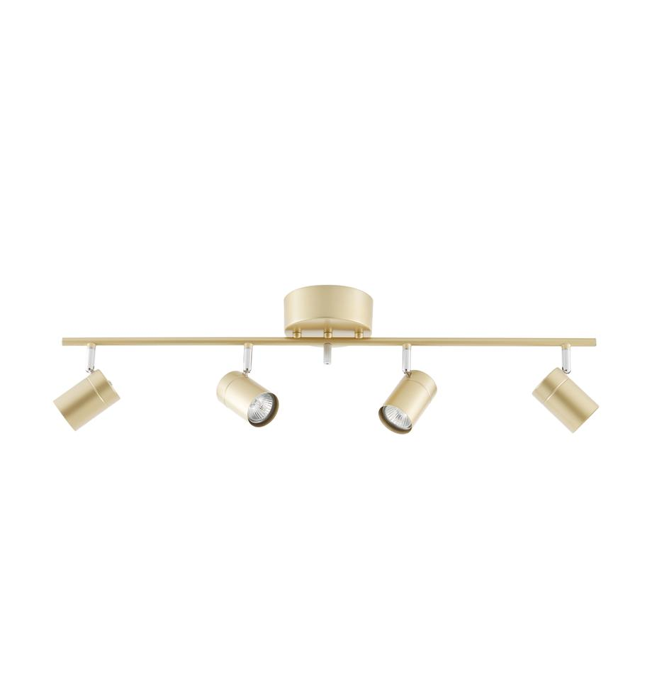 Riel Correct, Estructura: metal recubierto, Anclaje: metal recubierto, Dorado, An 83 x Al 18 cm