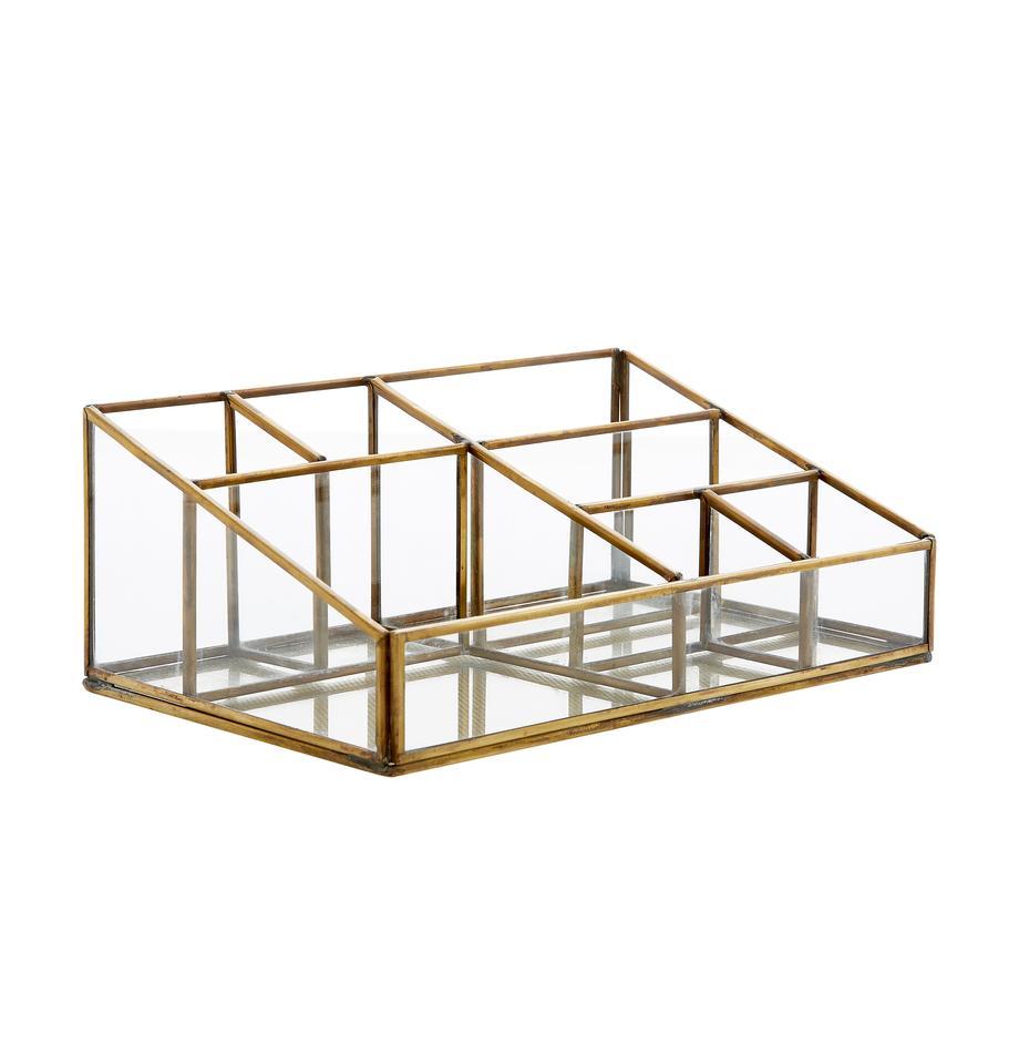 Organizer Sorted, Struttura: metallo rivestito, Ottone, Larg. 24 x Alt. 9 cm