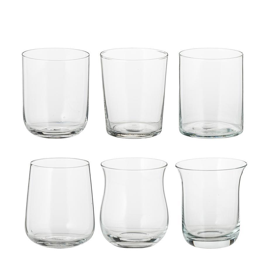 Komplet szklanek do wody ze szkła dmuchanego Desigual, 6elem., Szkło, Transparentny, W 10 cm
