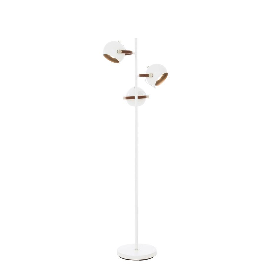 Lampada da lettura stile nordico Bow, Bianco, marrone, Larg. 48 x Alt. 152 cm