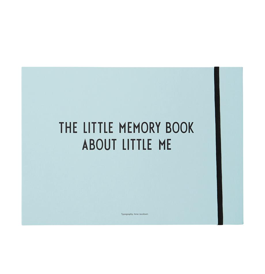 Erinnerungsbuch Little Memory Book, Papier, Blau, 30 x 21 cm