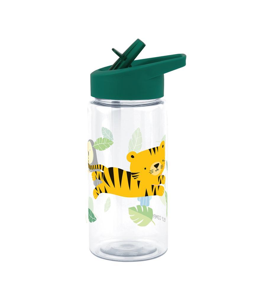 Drinkfles Jungle Tiger, Kunststof, Groen, 450 ml