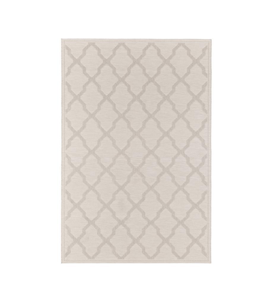 Alfombra de interior/exterior Heaven, Crema, An 80 x L 150 cm (Tamaño XS)