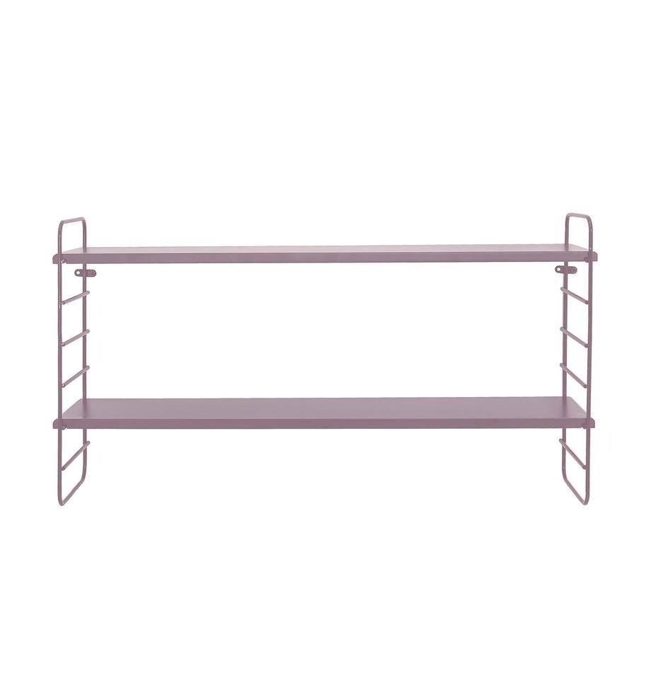 Mensola Kimi, Ripiani: pannelli di fibra a media, Rosa, Larg. 65 x Alt. 35 cm
