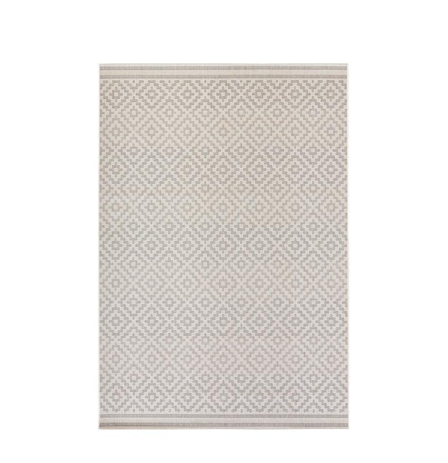 Alfombra de interior/exterior Meadow Raute, Gris, beige, An 80 x L 150 cm (Tamaño XS)