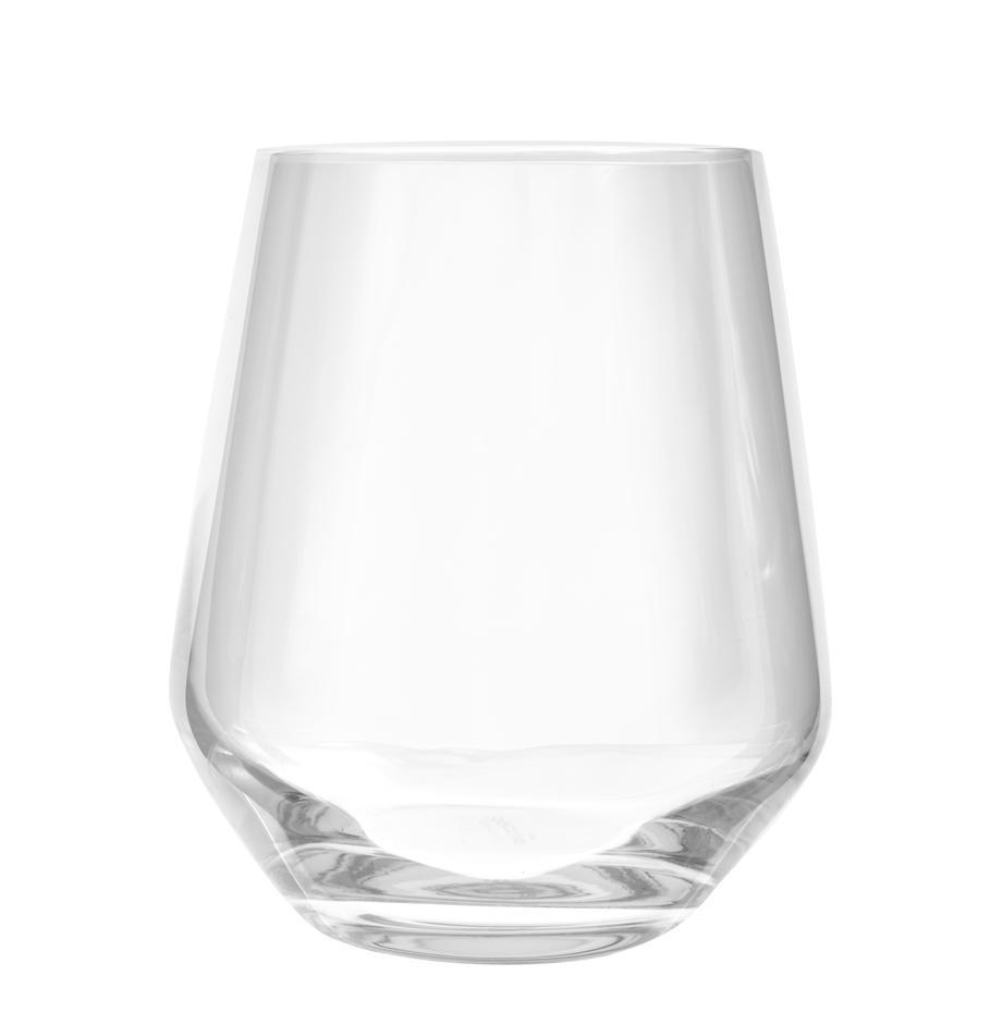 Kryształowa szklanka do wody Revolution, 6 szt., Szkło kryształowe, Transparentny, Ø 9 x W 11 cm