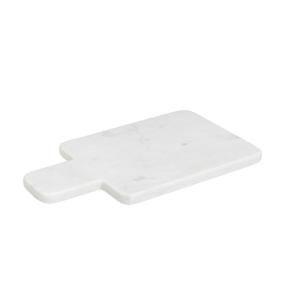 Tabla de cortar de mármol Adam, Mármol, Blanco, An 30 x F 17 cm
