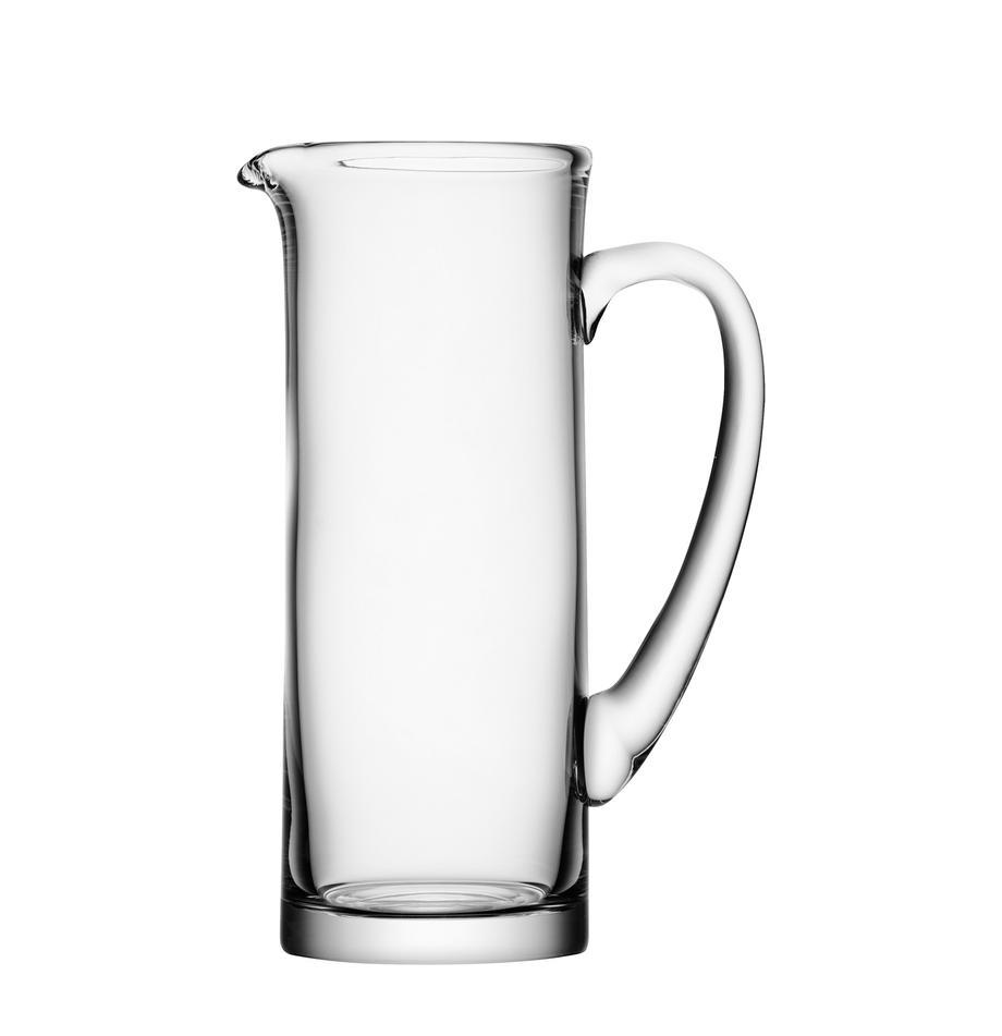 Klassischer Krug Basis, 1.5 L, Glas, Transparent, H 27 cm