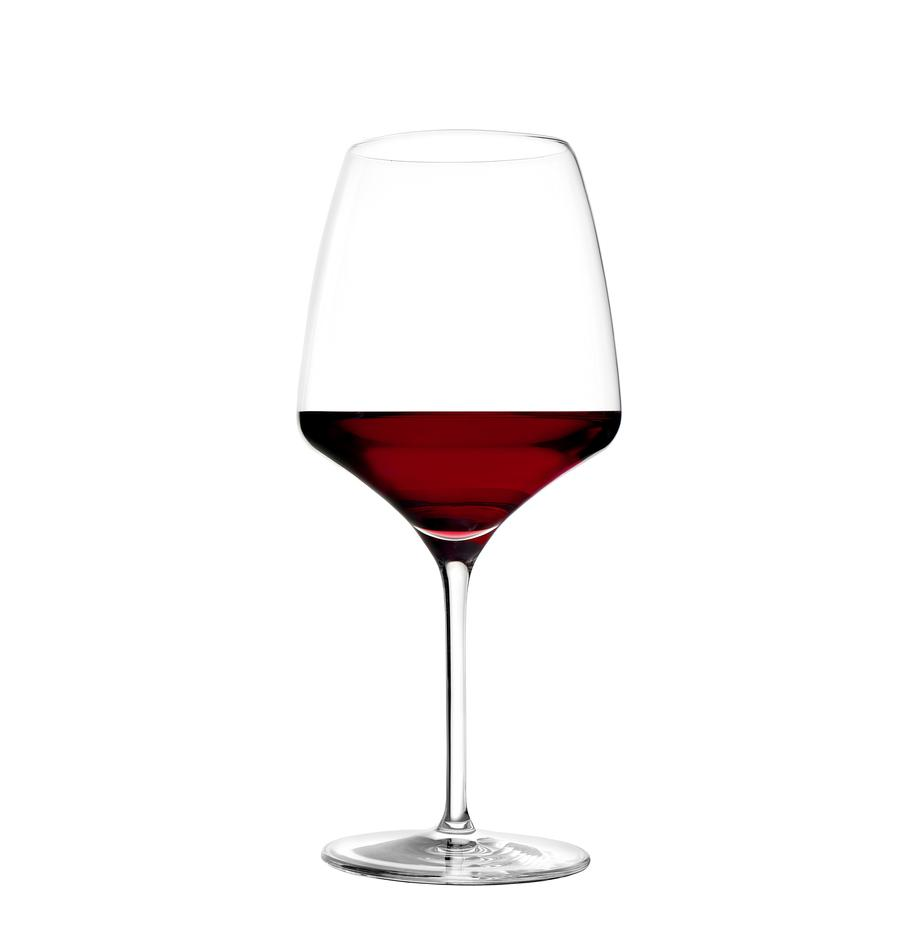 Kryształowy kieliszek do czerwonego wina Experience, 6 szt., Szkło kryształowe, Transparentny, Ø 11 x W 23 cm