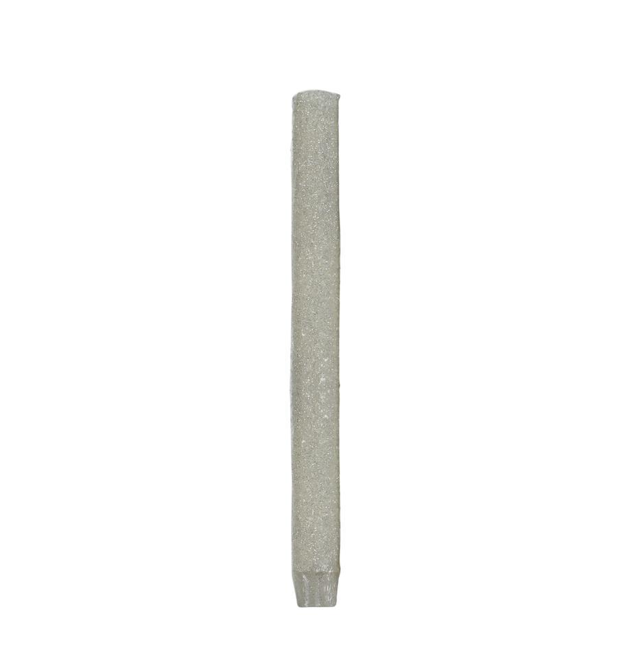 Steekkaarsen Flair, 3 stuks, Was, Wit, Ø 3 cm