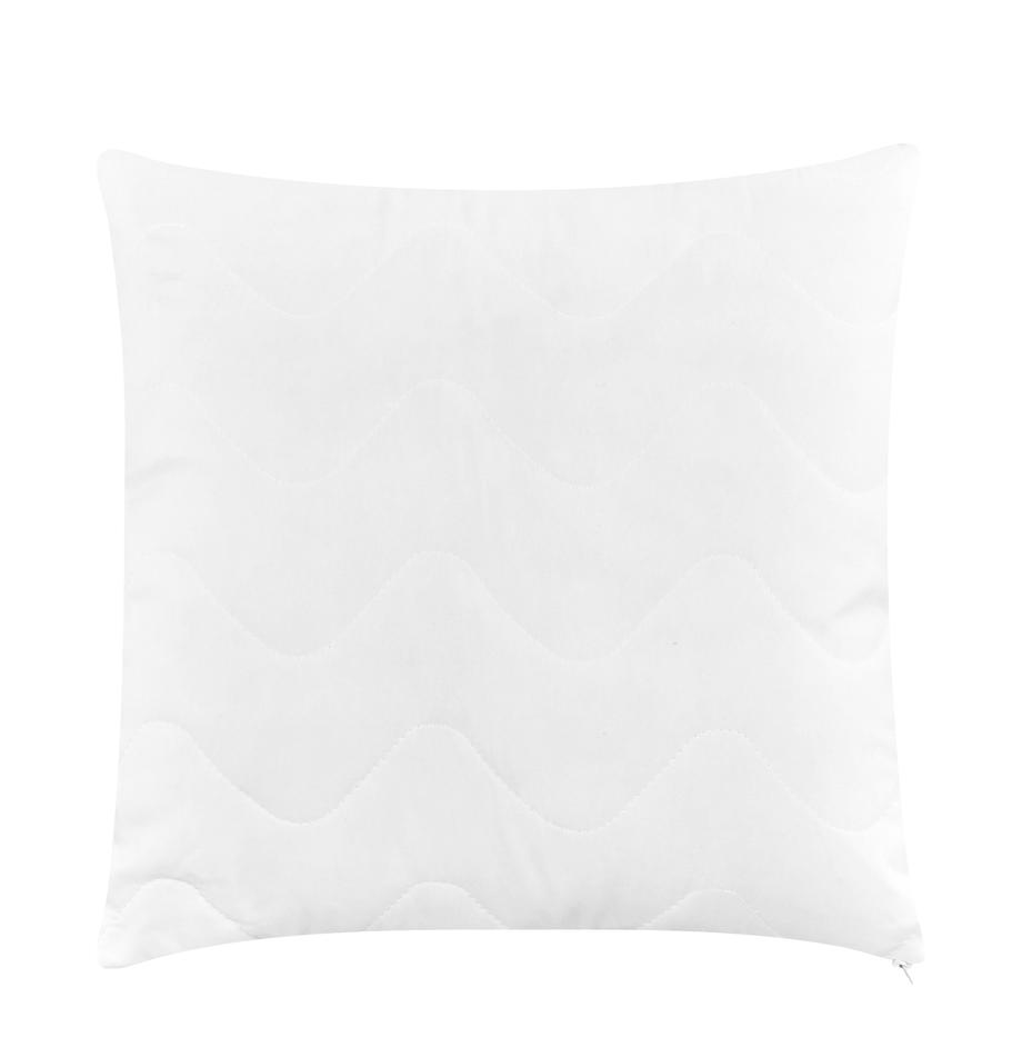 Relleno de cojín de microfibras Premium Sia, 40x40, Funda: 100%poliéster acolchado, Blanco, An 40 x L 40 cm
