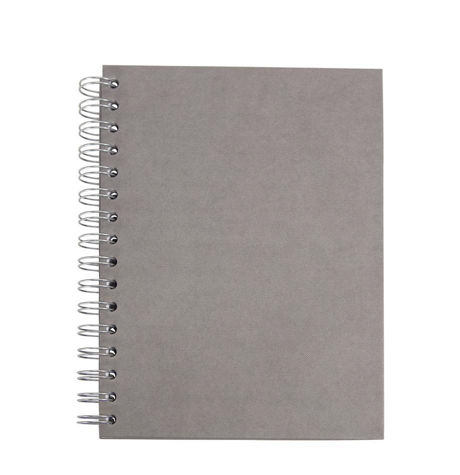 Cuaderno Bürli, Gris, An 16 x Al 21 cm