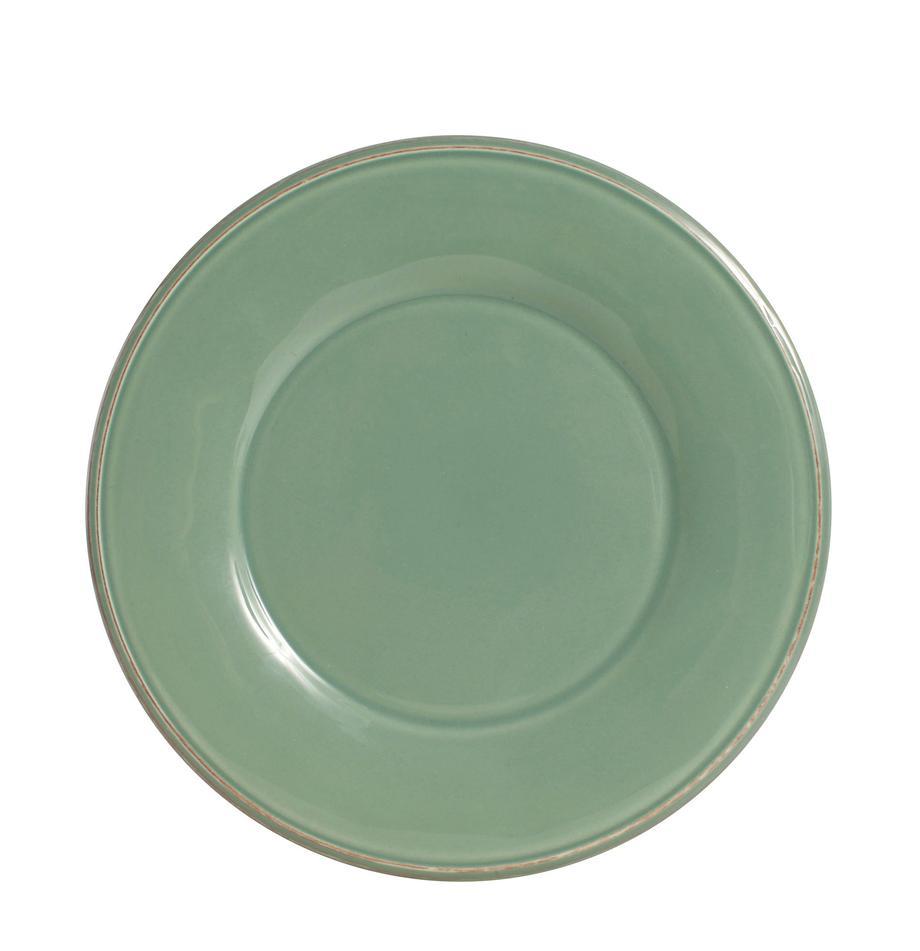 Piatto piano verde salvia Constance 2 pz, Terracotta, Verde salvia, Ø 29 cm