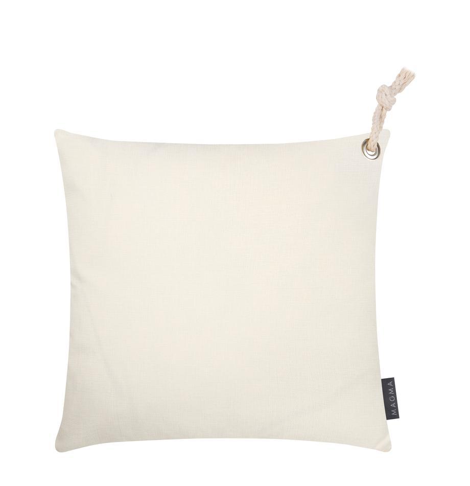 Federa arredo beige da esterno Capri, 100% polipropilene, Beige, Larg. 40 x Lung. 40 cm