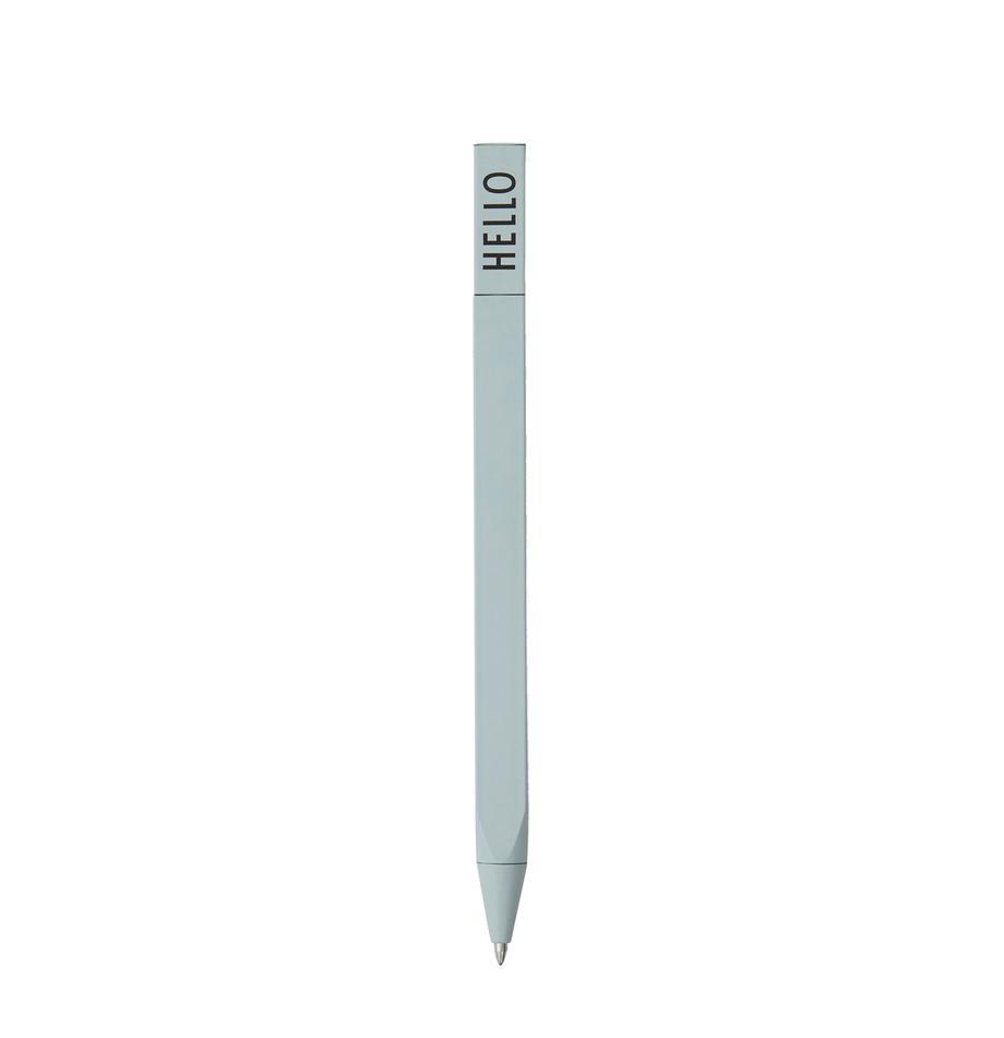 Długopis Twist, 2 szt., Zielony, D 15 cm