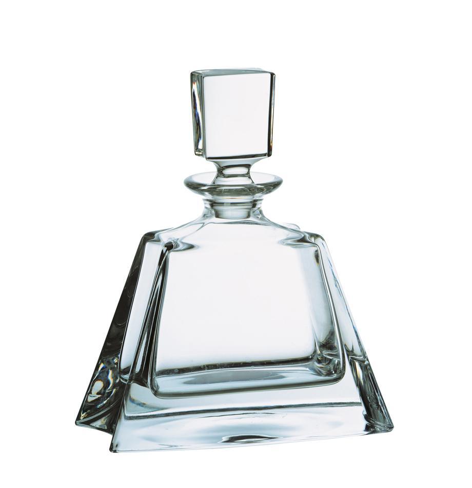 Botella licorera Boston, Vidrio, Transparente, Al 22 cm