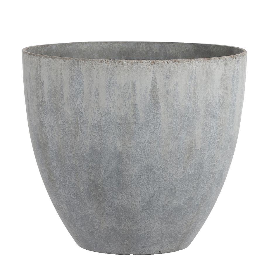 Pflanzentopf Bravo, Kunststoff, Grau, Ø 45 x H 40 cm