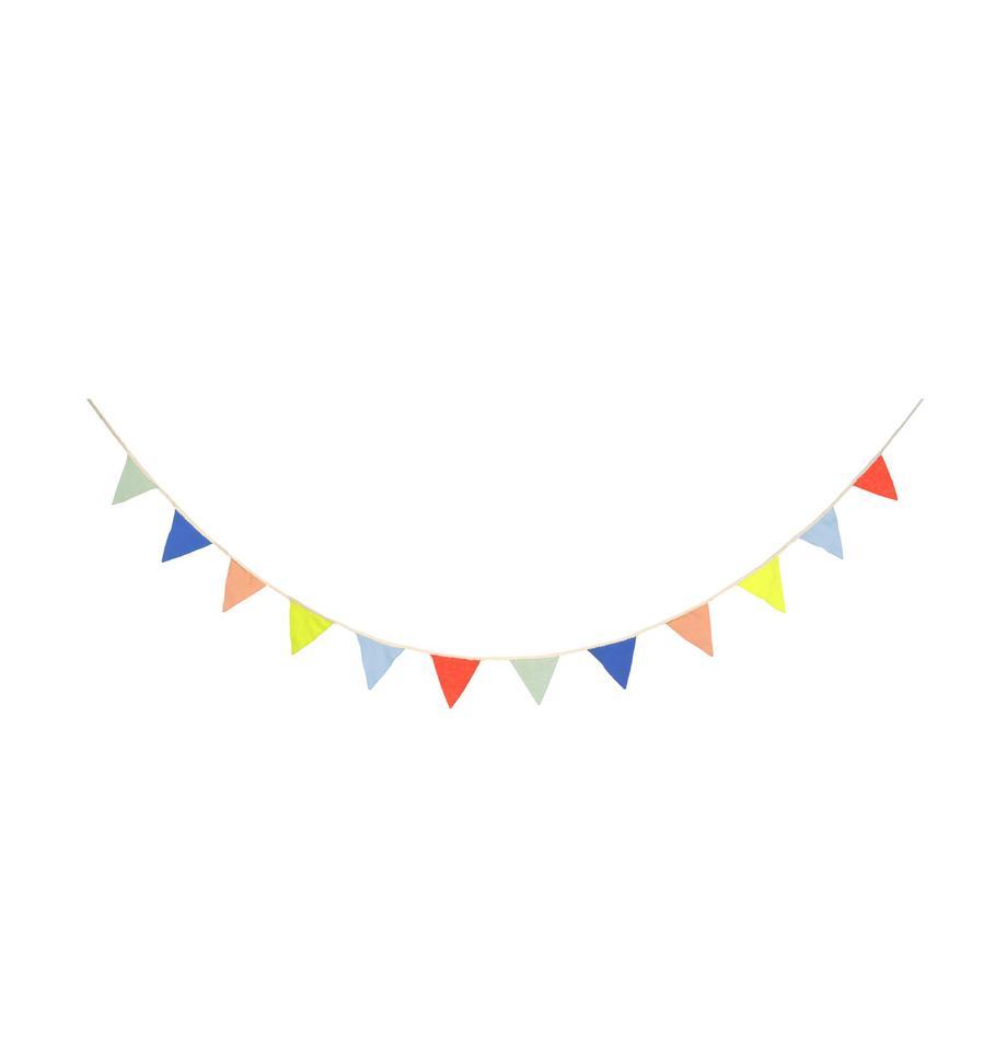 Slinger Flag, 100 % biokatoen, Multicolour, L 300 x H 10 cm