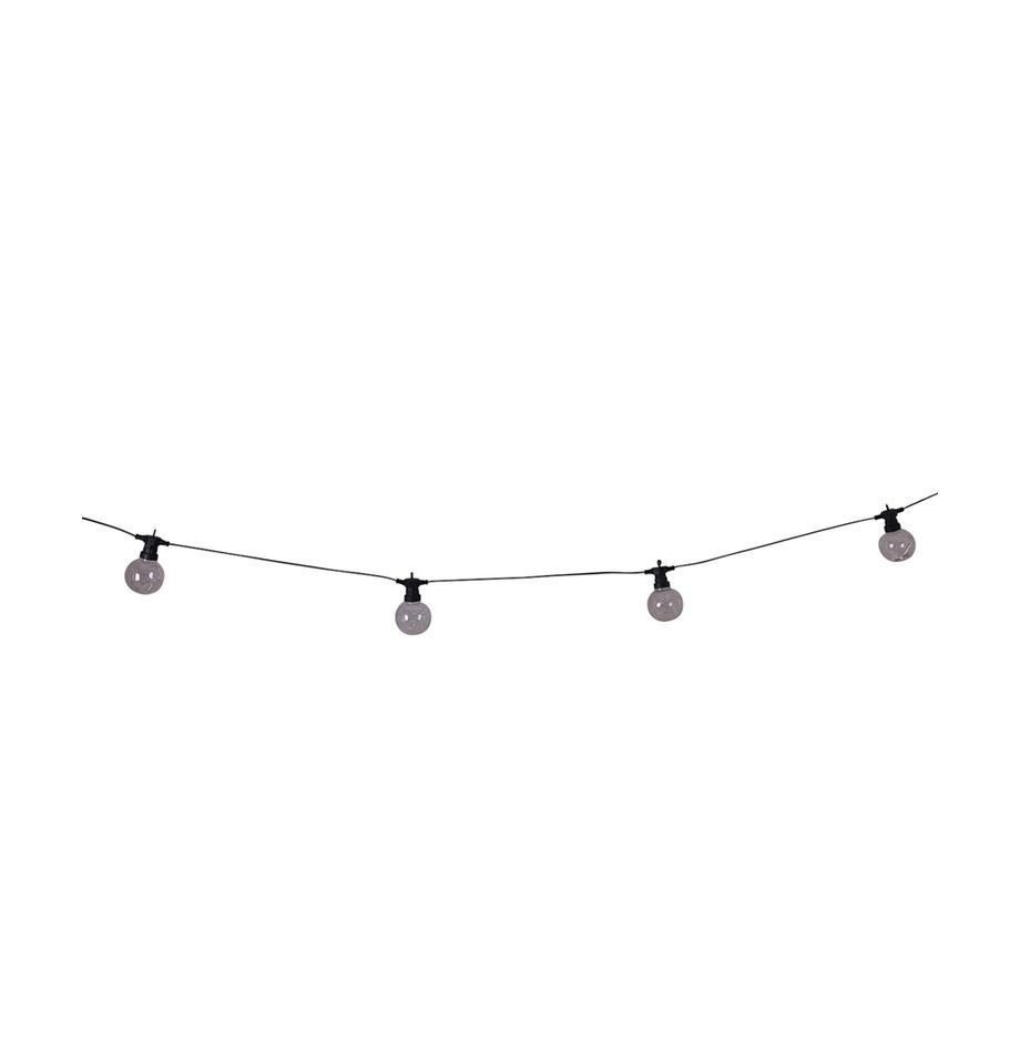 Guirnalda de luces LED Crackle Chain, 750cm, Cable: plástico, Transparente, L 750 cm